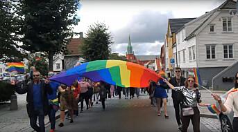 Kjente fjes i Stavanger på skeivås parade