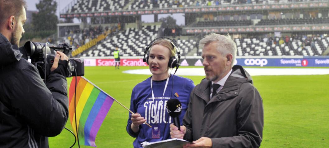 Pride på Lerkendal stadion
