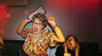 Muttern jakter på karaokestjerner