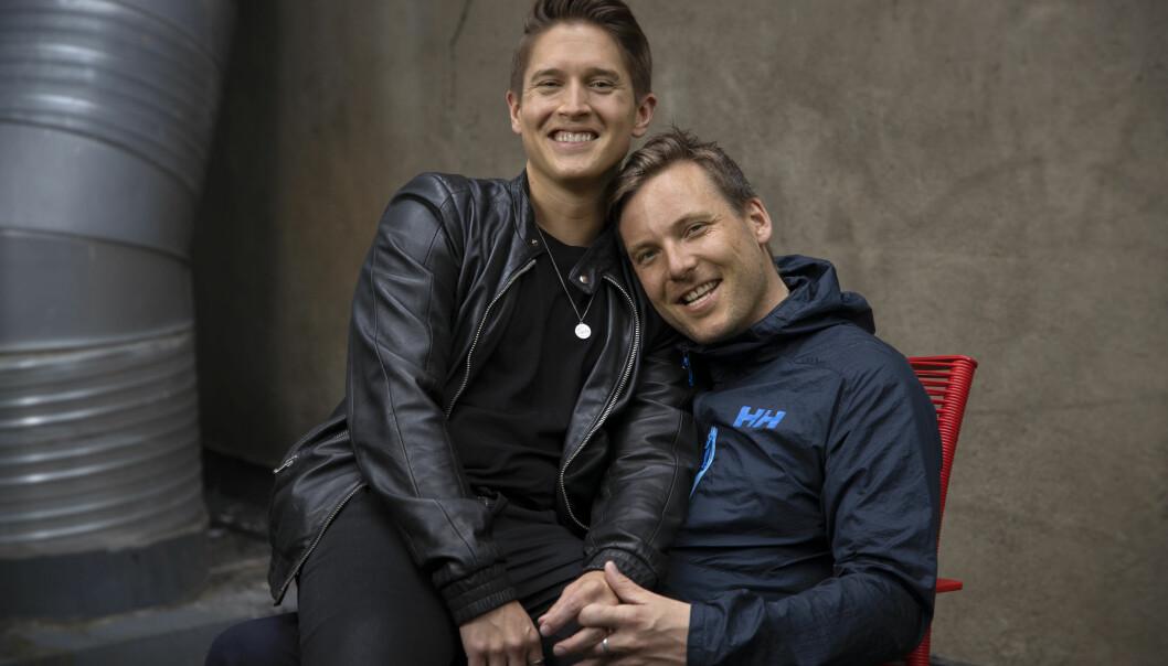 Benjamin Silseth og Niklas Baarli. Foto: Trygve Indrelid.