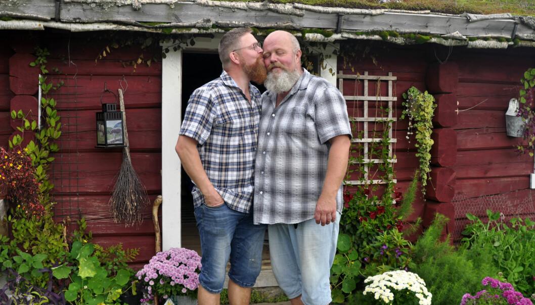 Roy Tomas Leirvik og Erik Fleischer. Foto: Reidar Engesbak.