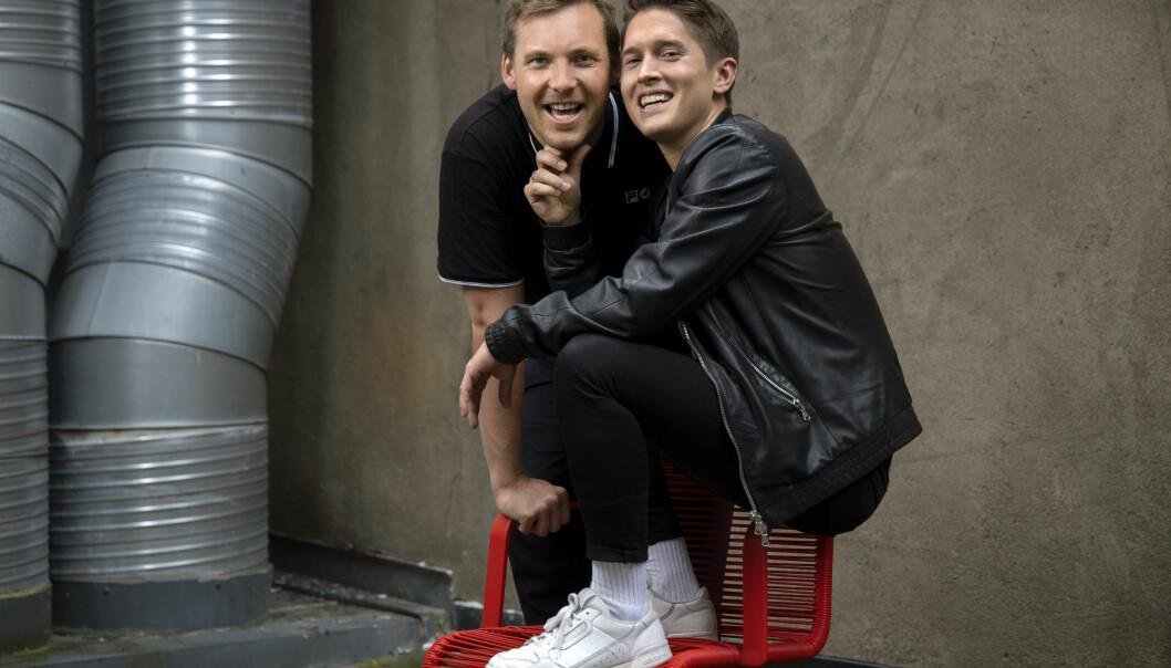 Niklas Baarli og Benjamin Silseth. Foto: Trygve Indrelid.