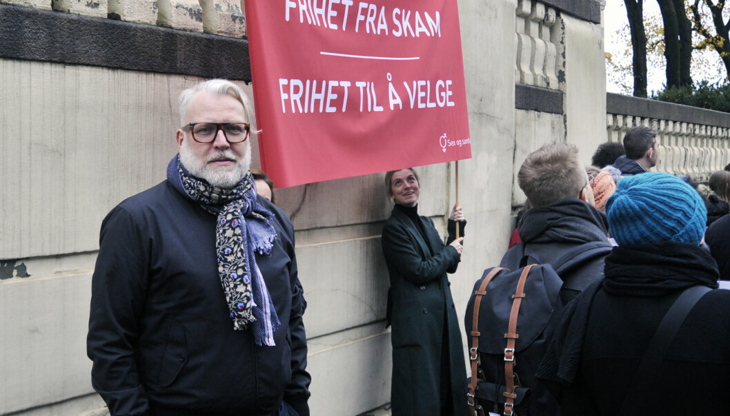 Tore Holte Follestad, assisterende daglig leder og sexologisk rådgiver for Sex og samfunn. Foto: Reidar Engesbak.