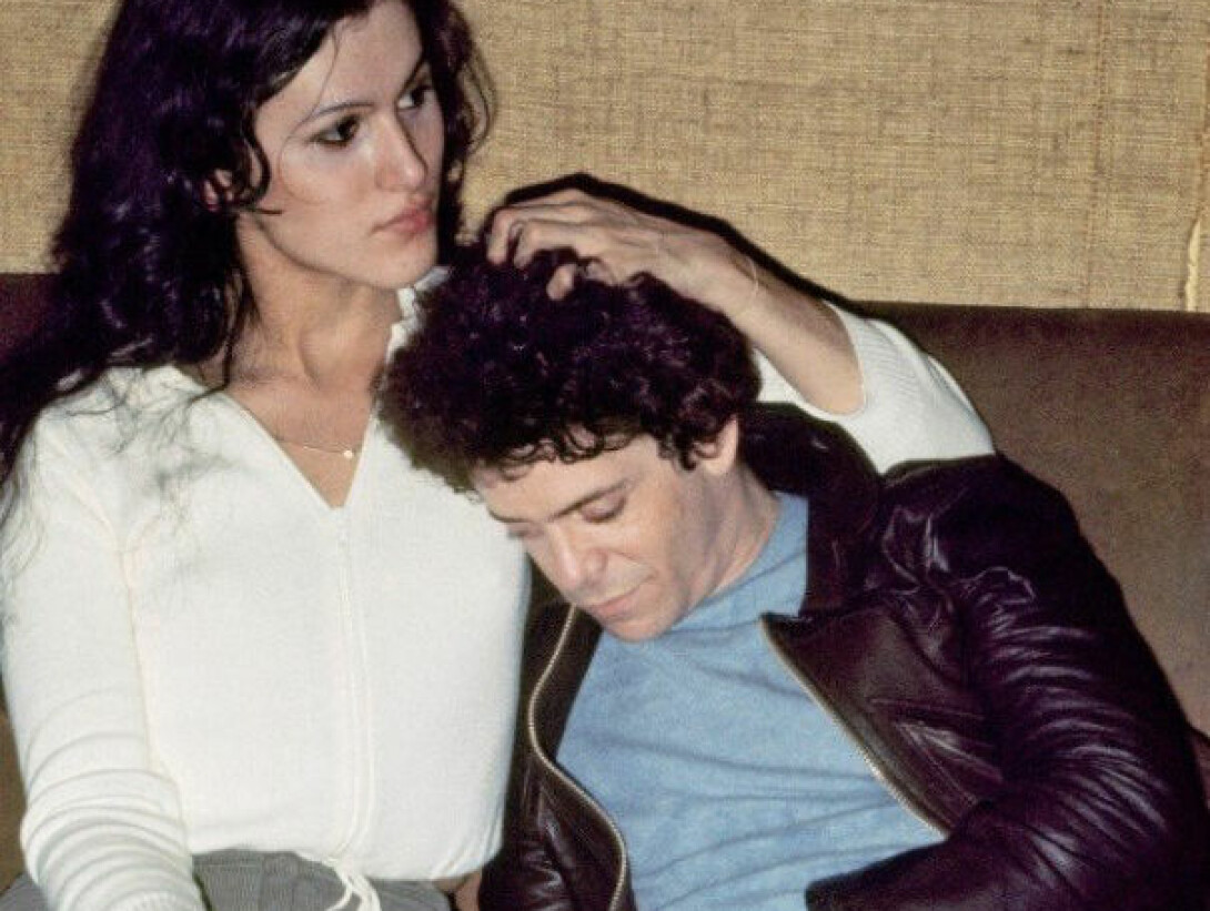 Rachel Humphreys og Lou Reed.