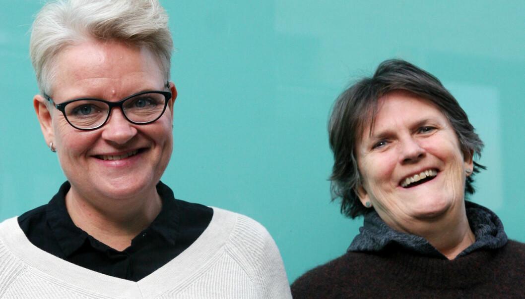 Anne Holter og Linda Rønold.