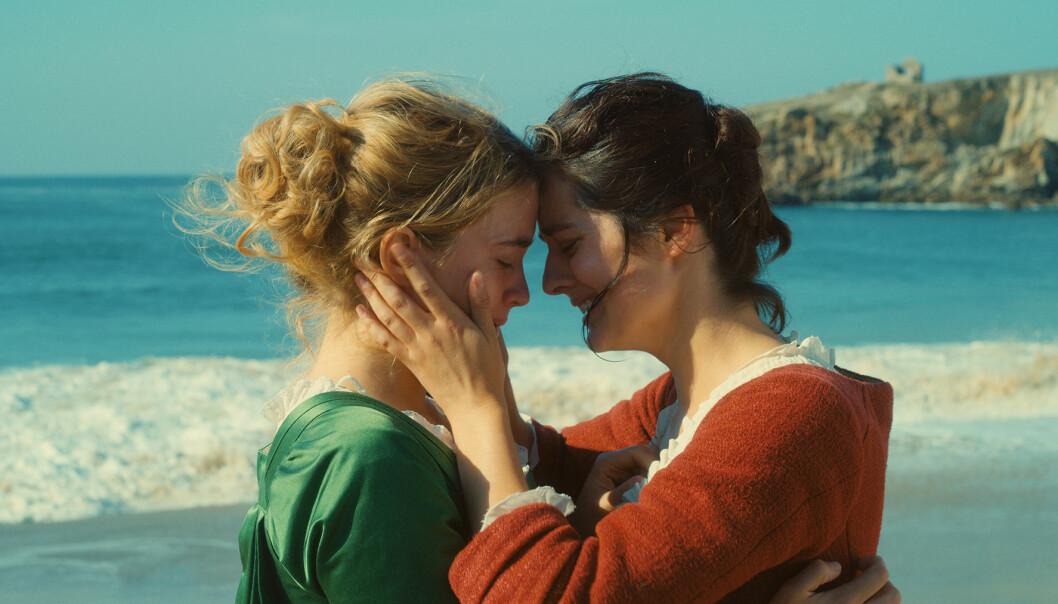 «Portrett av en kvinne i flammer» ble første gang vist i Norge under Oslo/Fusion, den skeive filmfestivalen, i september. 25. desember får den norsk kinopremiere.