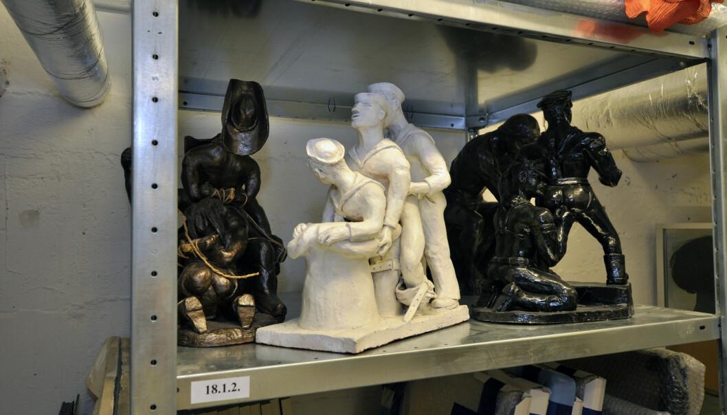 I kjelleren på Schwules Museum ligger arkivet som bugner av skeive skatter.