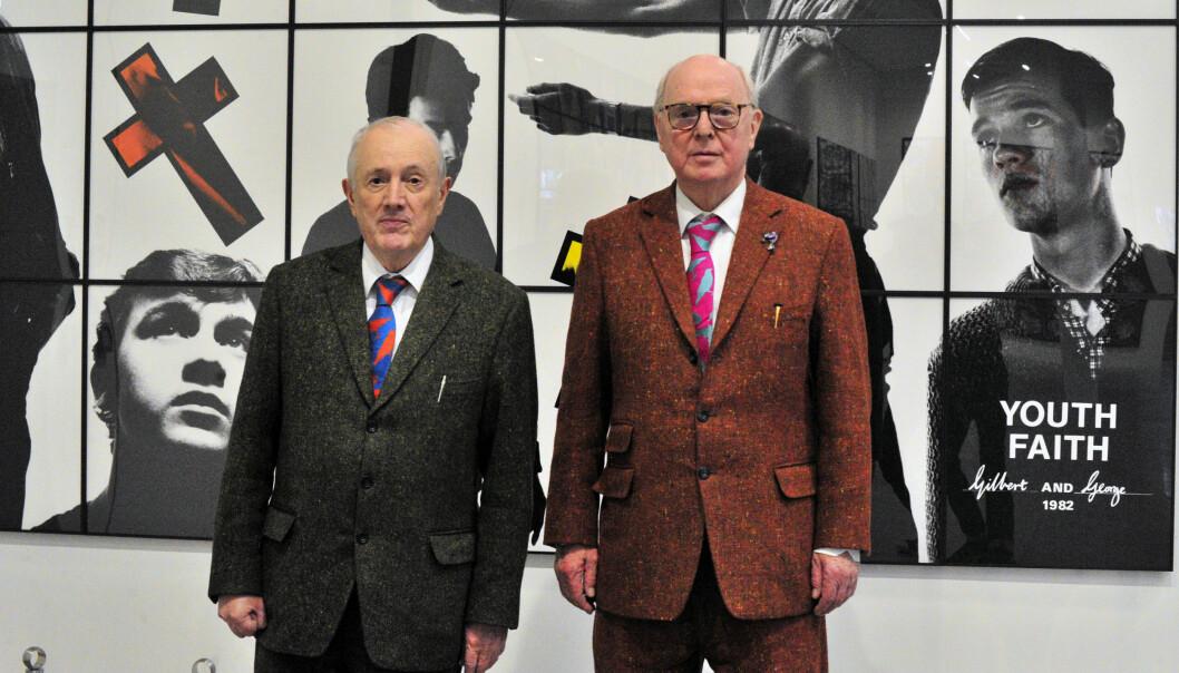 Gilbert Prousch (76) og George Passmore (77).