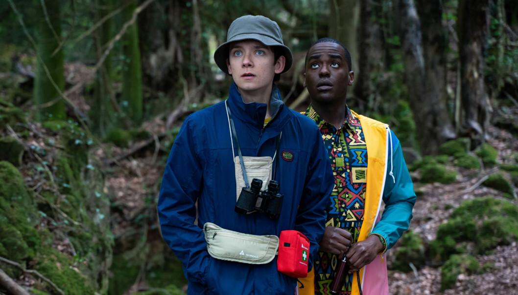 Otis (Asa Butterfield) og Eric (Ncuti Gatwa).