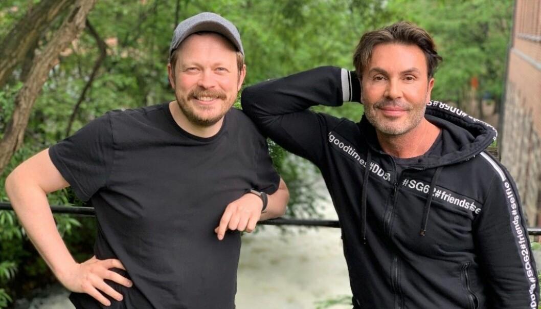 Einar Tørnquist og Jan Thomas.