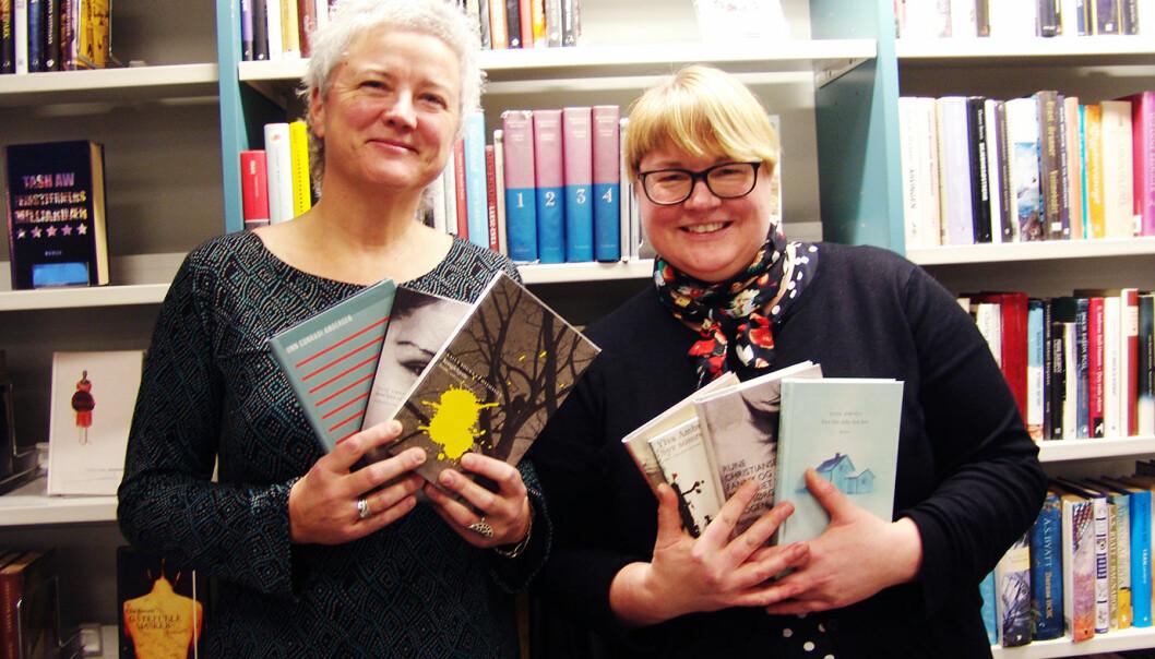 Lisbeth Eilertsen og Siri Lindstad.
