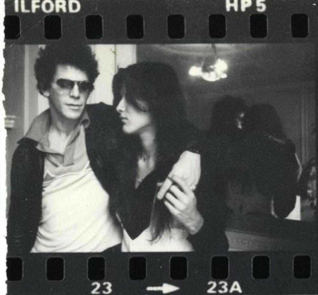 Fotografier av Rachel Humphreys og Lou Reed, de var sammen fra 1975 til 1978.