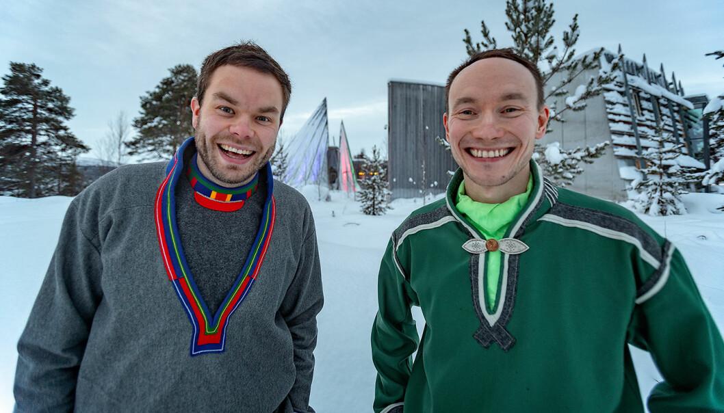 Mikkel Eskil Mikkelsen og Runar Myrnes Balto.