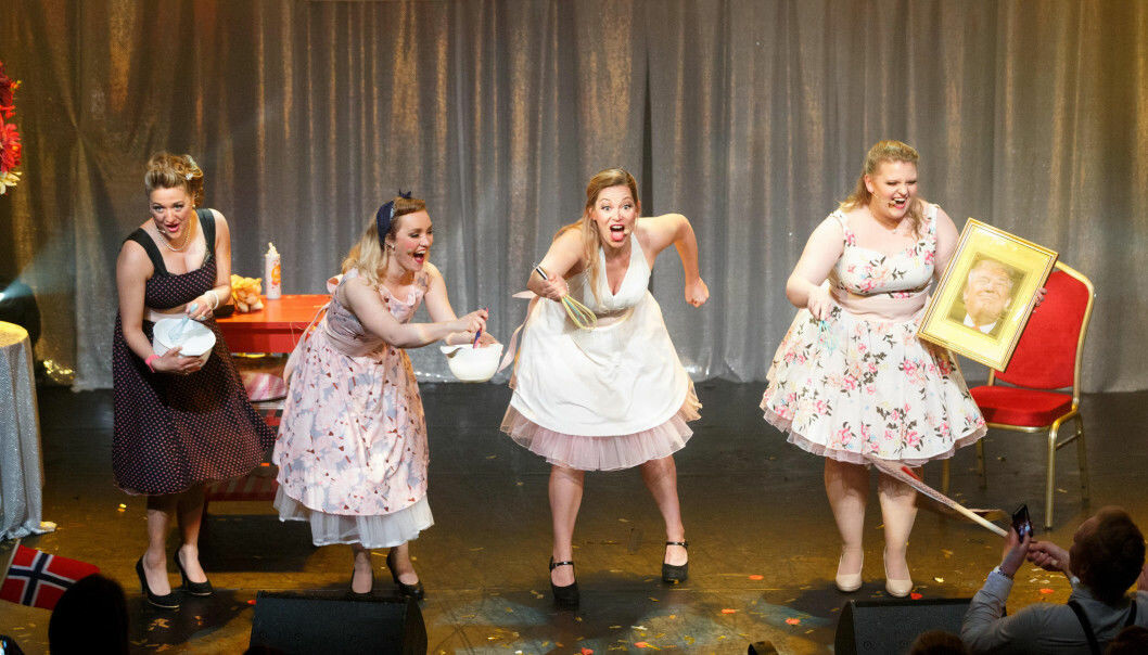 The Real Housewives of ESC vant Parodi Grand Prix i 2017.