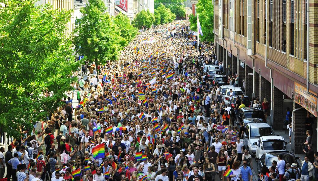 Oslo Pride-parade 2017.