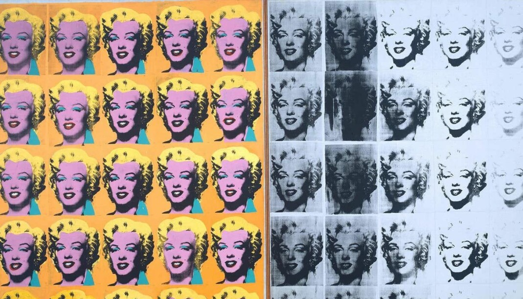 «Marilyn Diptych»-serien begynte Warhol på en uke etter Marilyn Monroes selvmord i august 1962.
