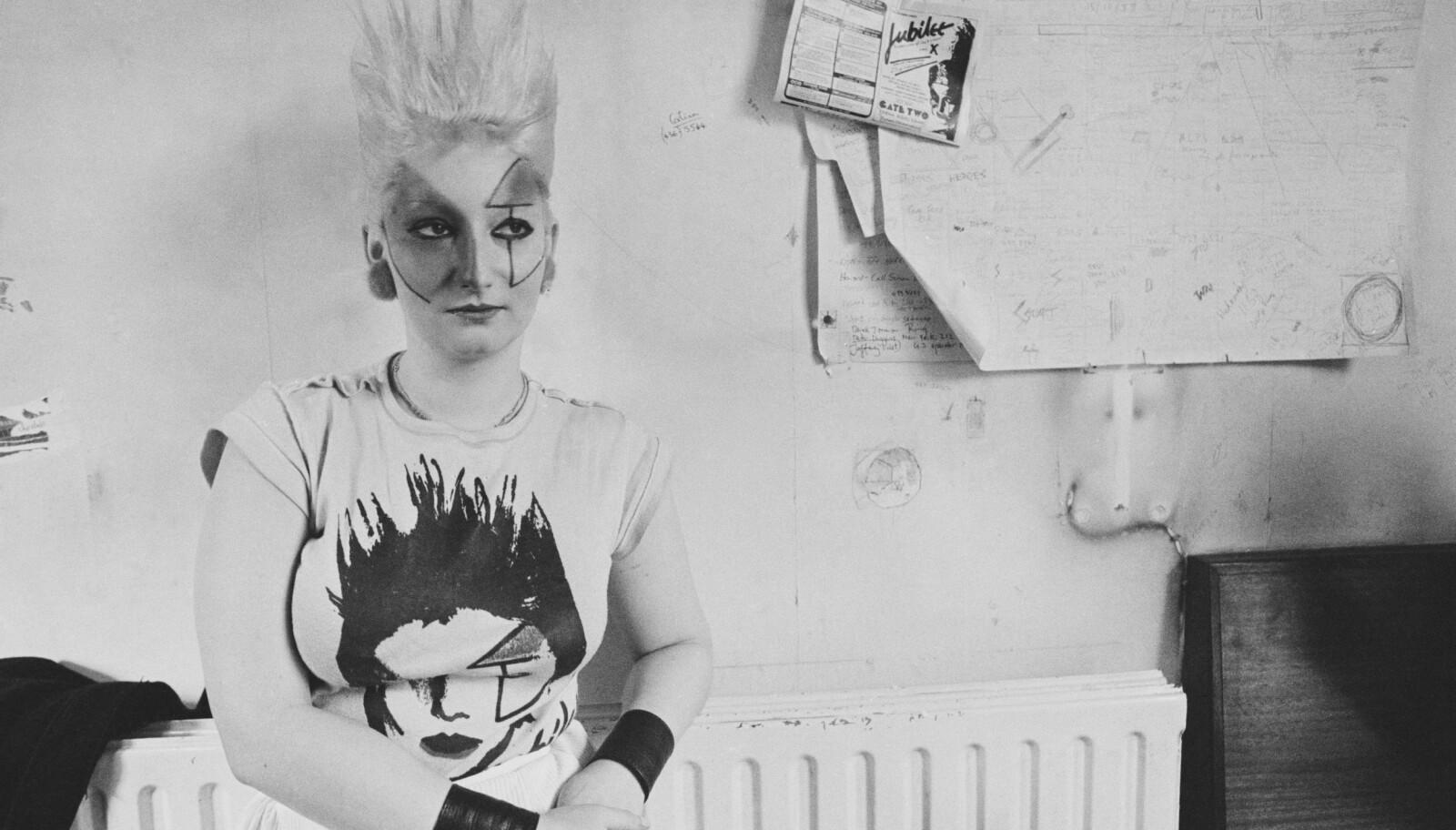 Lesbeklubben Louise's i Soho i London ble sentrum og stamstedet til Jordan Mooney, Sex Pistols og Siouxsie Sioux.