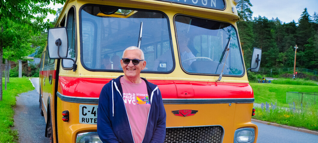 Den gule bussen til Snarøya