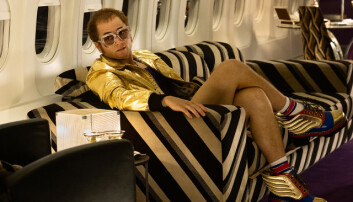 Taron Egerton takes flight as Elton John in 'ROCKETMAN' from Paramount Pictures