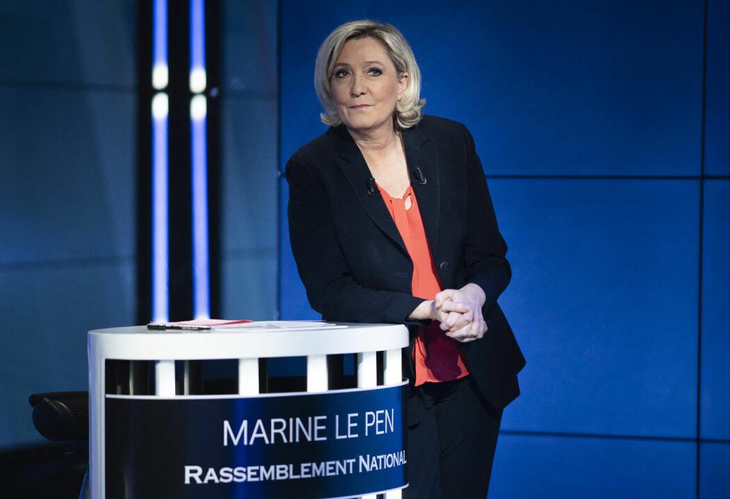 Muslimfrykten er så sterk at homofile menn velger å se bort fra at Le Pen vil ta fra dem rettigheter de fikk under den sosialistiske  presidenten, François Hollande.