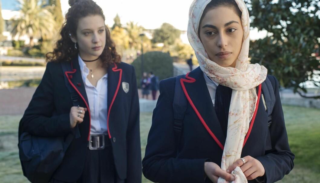 Élite - high school-drama med mord.
