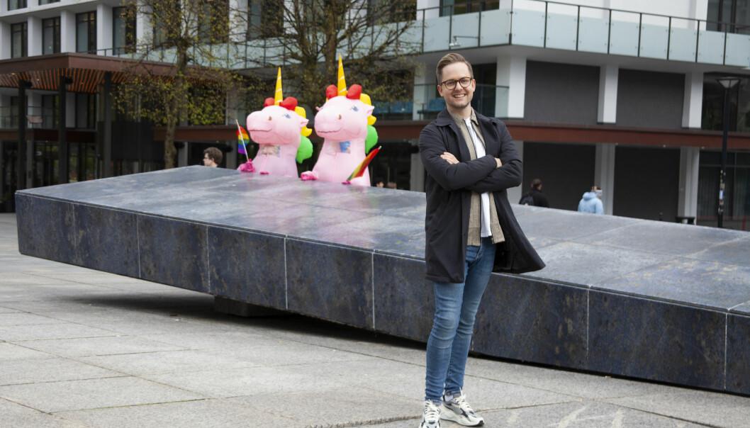 Festivalsjef Joakim Aadland.