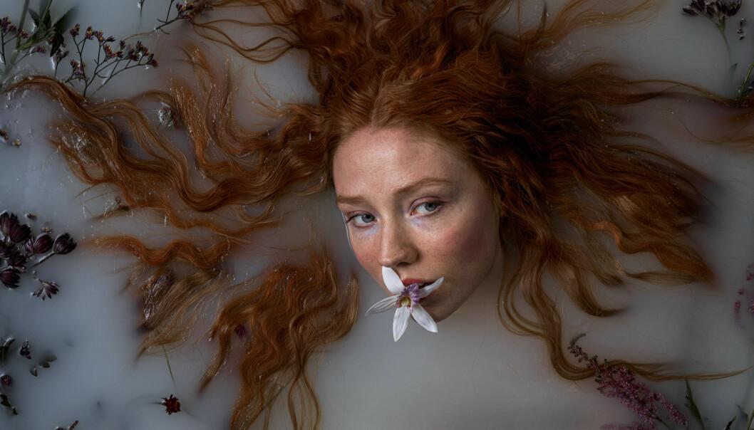 Sarah Francesca Brænne spiller rollen som jenta Wendla Bergmann i «Vår- løysing.»
