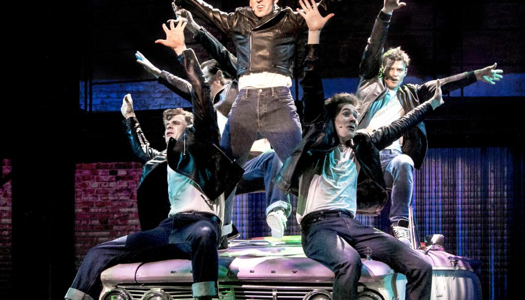«Grease» i Trondheim Spektrum blir Norges største oppsetning av suksessmusikalen noensinne med plass til 7.600 publikummere.