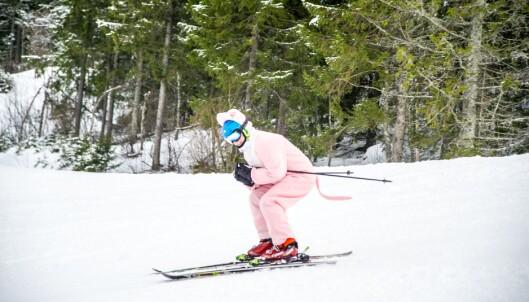 Den mest populære delen av Skeive Ski er skikonkurransen lørdag ettermiddag. Mange gjør seg ekstra flid med kostyme- valget.