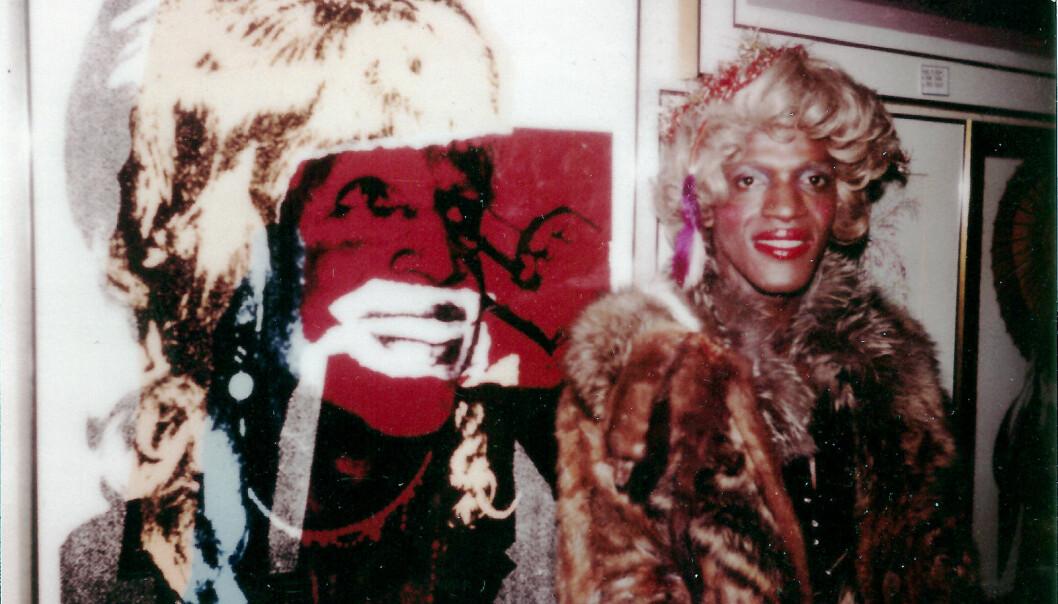 Andy Warhols portrett av Marsha P. Johnson  fra serien «Ladies and Gentlemen».