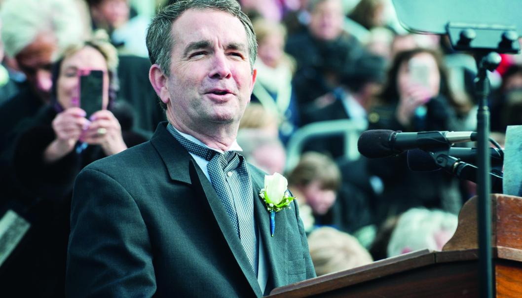 Virginias  guvernør Ralph  Northam sier at den nye loven som skal forby homoterapi  for mindreårige er personlig for han.