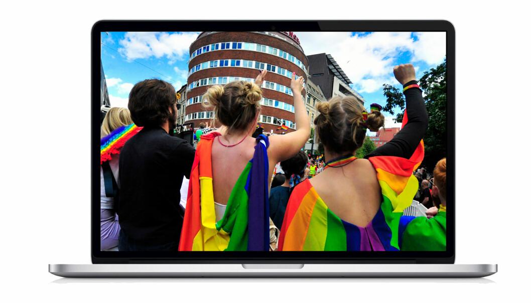 Digital Oslo Pride 2020 kan oppleves hjemme i din egen stue.