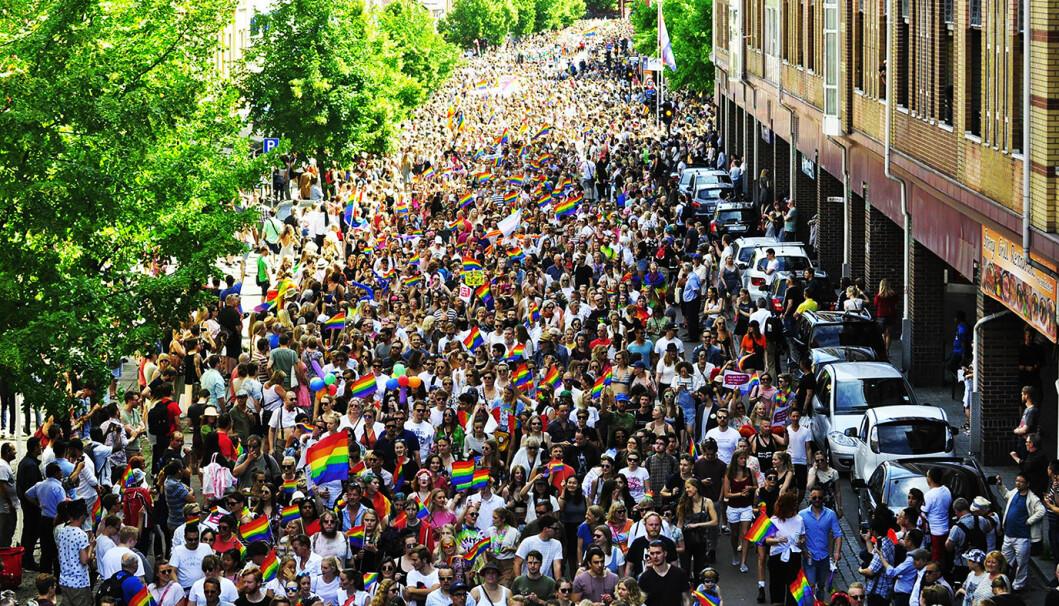 Oslo Pride-paraden i 2017 gikk tradisjonen tro over Grønland.