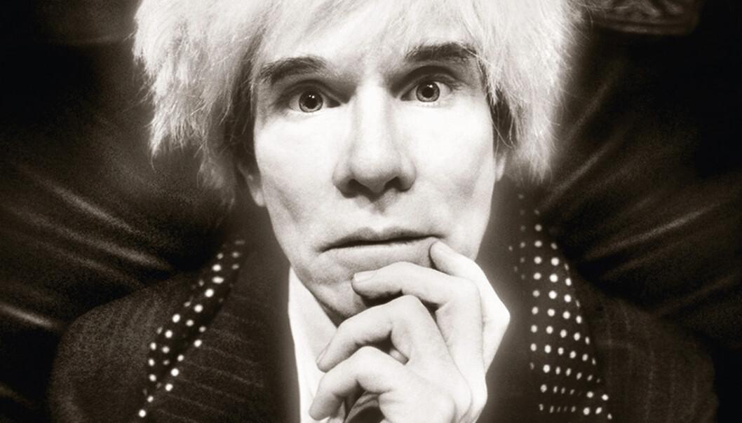 Andy Warhol: Last Sitting, november 22, 1986.