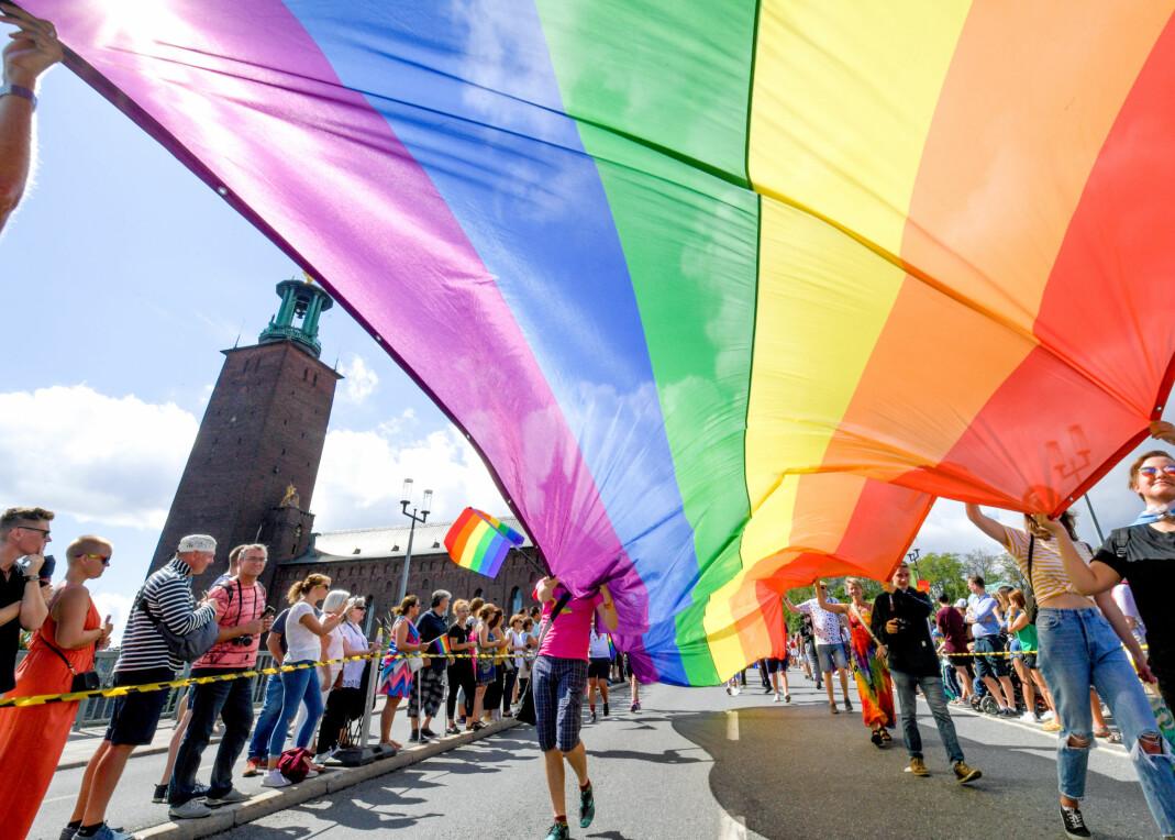 Stockholm Pride.