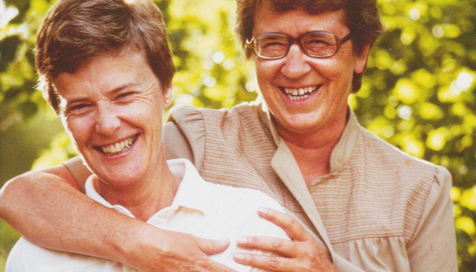 Kim Friele og Wenche Lowzow