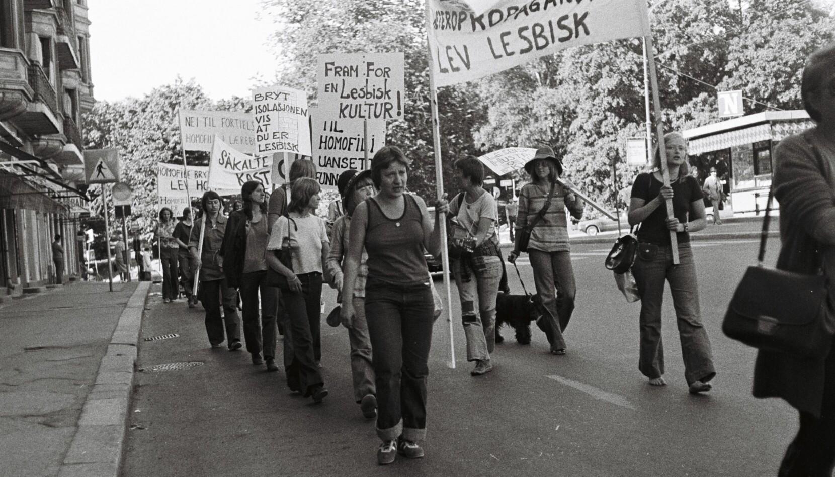 Inge Ås gikk sammen med rundt regnet 40 lesbiske feminister (og noen få homser) i det som viste seg å bli «alle norske paraders mor», demonstrasjonstoget ned Ullevålsveien i Oslo lørdag 28. juni i 1975.