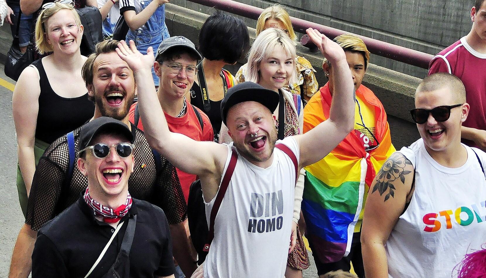 Paraden i Oslo i 2019 var ekstra spesiell for Luca Dalen Espseth. – Da klarte vi for første gang å samle flere hundre bak transparolen. Det blir man jo både stolt og myk i hjerterota av.