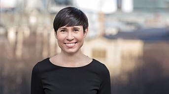Utenriksminister Ine Marie Eriksen Søreide på Oslo Pride