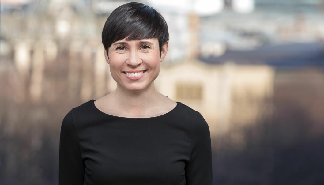Utenriksminister Ine Marie Eriksen Søreide.