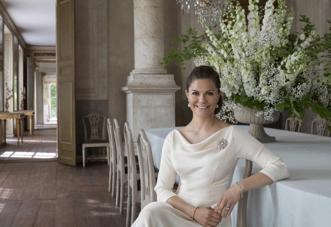 H.K.H. Kronprinsesse Victoria.