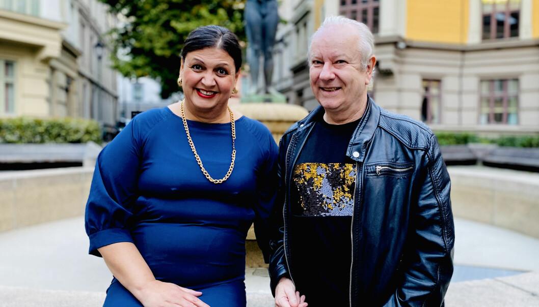 Daisy Hafstad og Morten Rudå.