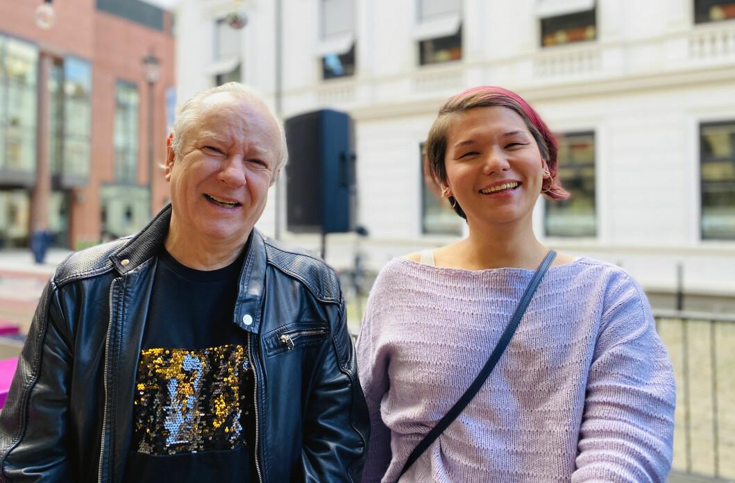 Morten Rudå og Remi Johansen Hovda er begge portrettert i boka «Parykker, stiletter og frigjøring - historien om norsk dragshow».