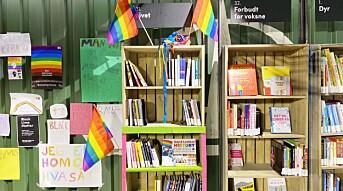 Den skeive bokhylla på et av verdens kuleste steder