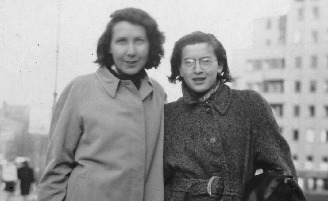 Gunvor Hofmo og Ruth Maier.