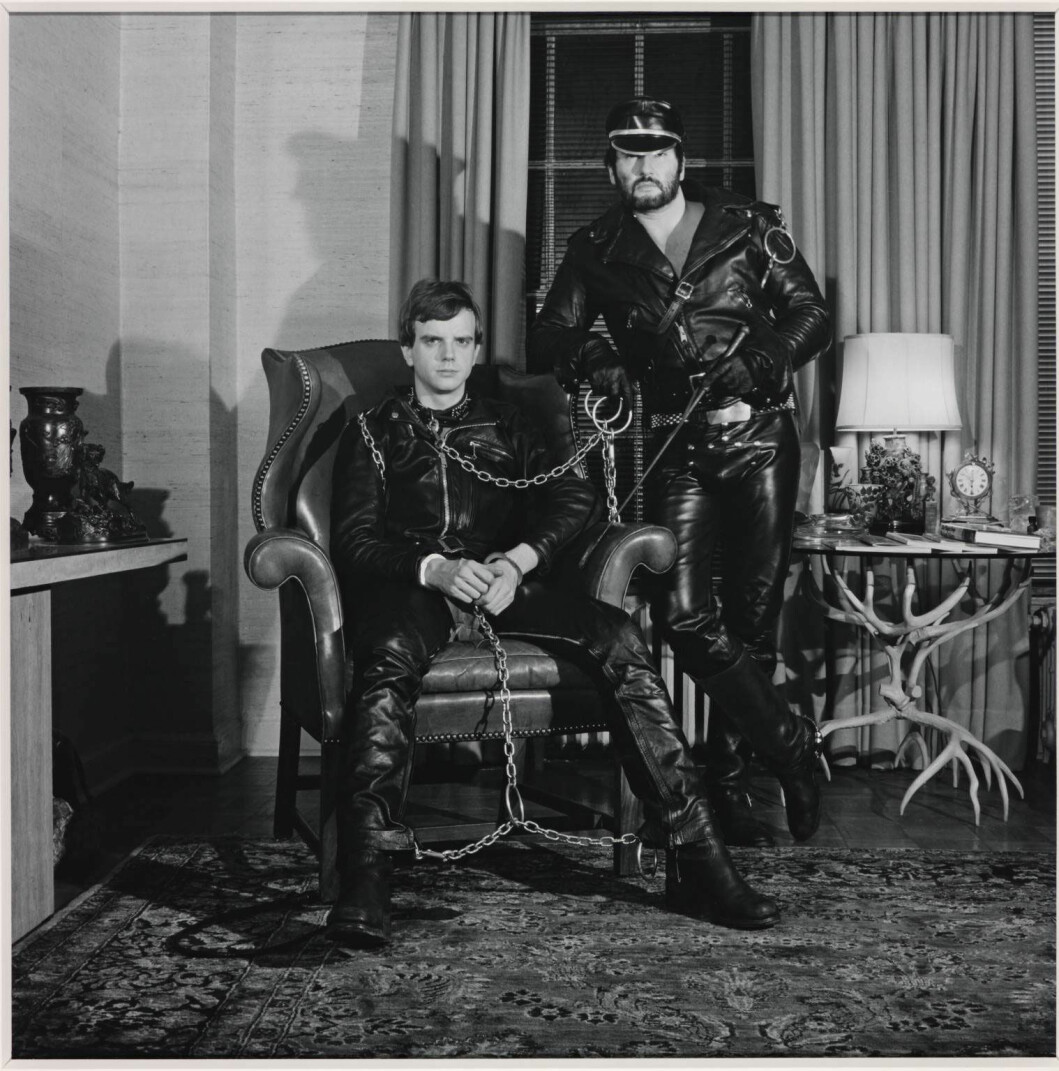 Robert Mapplethorpe «Brian Ridley and Lyle Heeter», 1979.