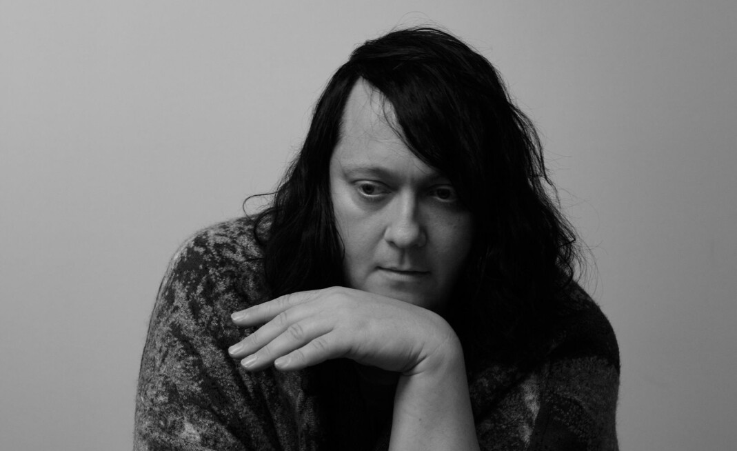 Anohni  the day after opening the exhibition 'Anohni - My truth' at Kunsthalle Bielefeld, July 2016
