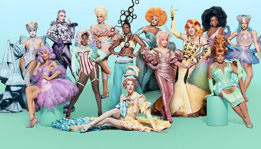 Alle dronningene i RuPaul's Drag Race sesong 13.