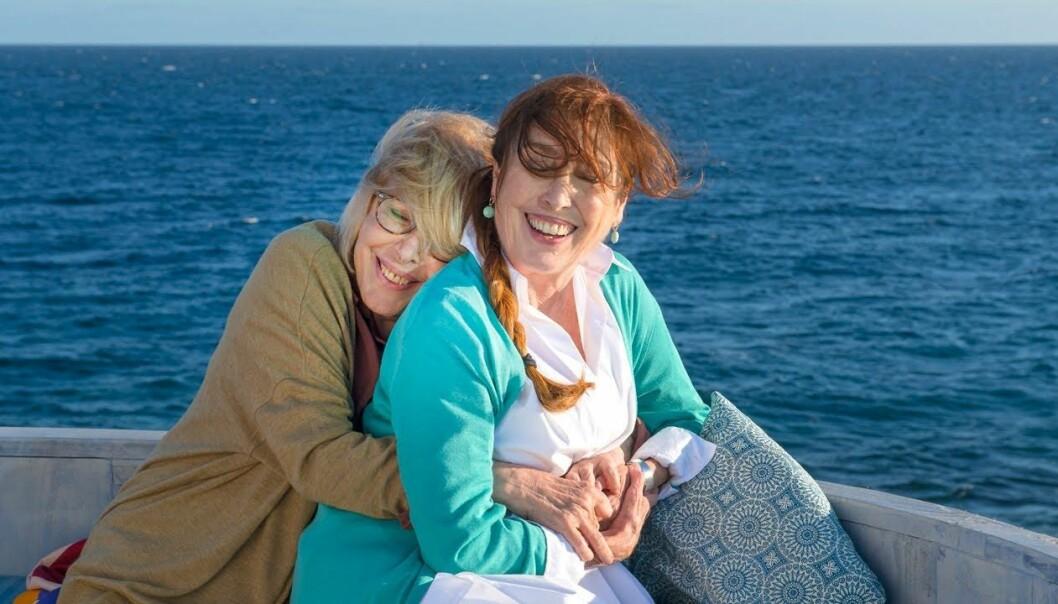 Rosa Maria Sardà og Verónica Forqué i «Bestemor kommer ut av skapet».