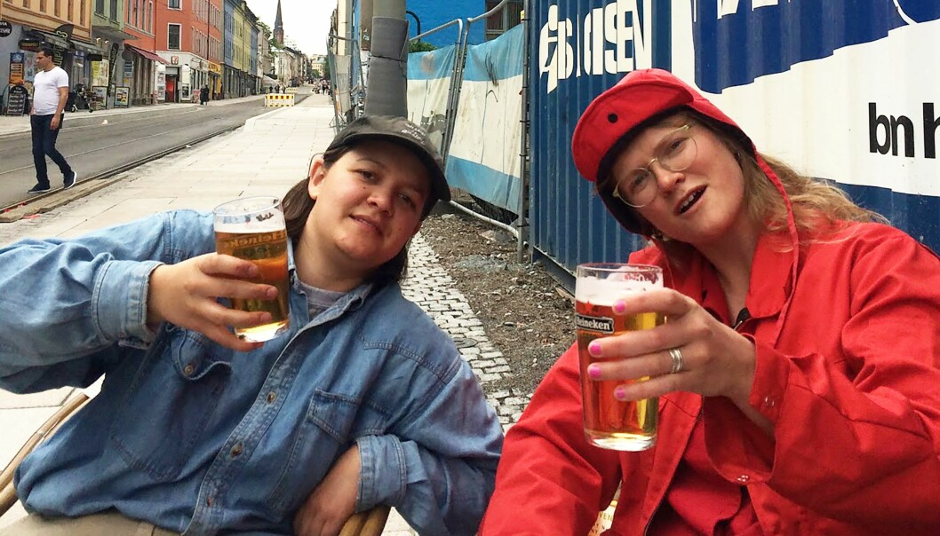 Maria Refsland og Synneva Gjelland.